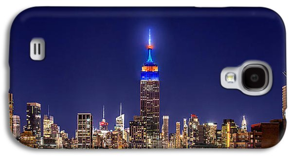 Empire State Galaxy S4 Cases - Mets Dominance Galaxy S4 Case by Az Jackson