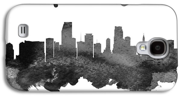 Miami Florida Skyline 18 Galaxy S4 Case by Aged Pixel