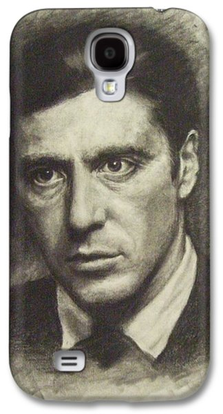 Michael Corleone Galaxy S4 Case by Cynthia Campbell