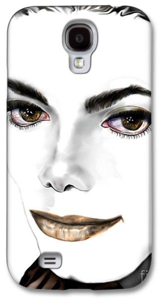 Jacko Galaxy S4 Cases - Michael J Galaxy S4 Case by Reggie Duffie