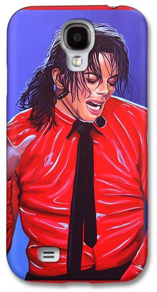 Michael Jackson 2 Galaxy S4 Case by Paul Meijering