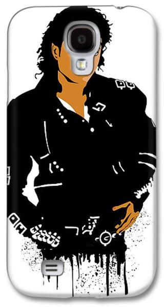 Jacko Galaxy S4 Cases - Michael Jackson Bad Galaxy S4 Case by Adz Akin