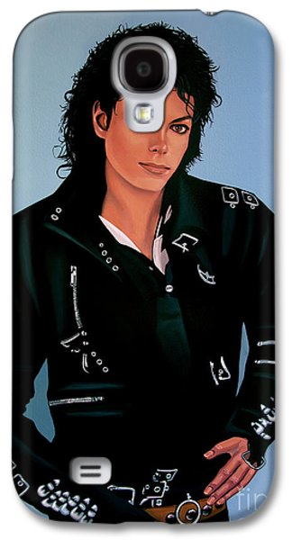 Michael Jackson Bad Galaxy S4 Case by Paul Meijering