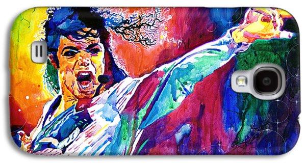 Michael Jackson Force Galaxy S4 Case by David Lloyd Glover