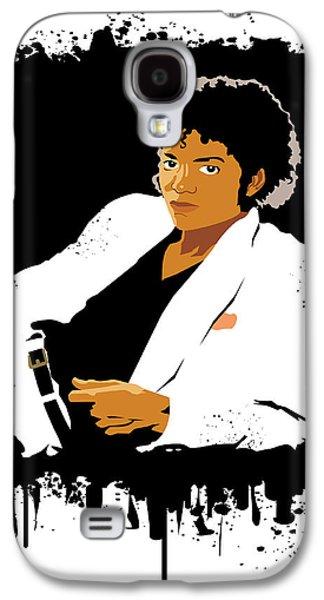 Jacko Galaxy S4 Cases - Michael Jackson Thriller  Galaxy S4 Case by Adz Akin