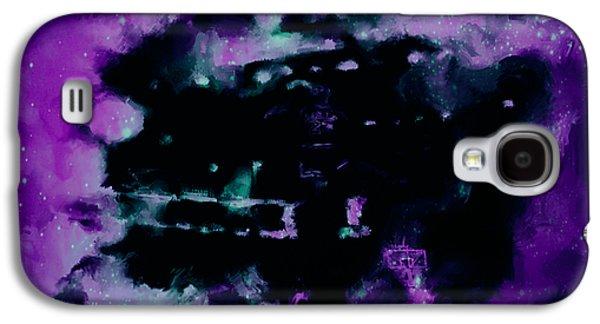 John Stockton Paintings Galaxy S4 Cases - Michael Jordan Nebula Galaxy S4 Case by Brian Reaves