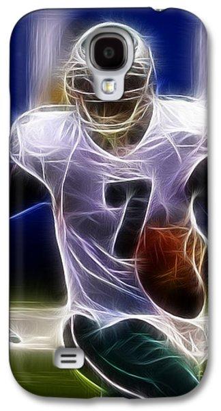 Michael Photographs Galaxy S4 Cases - Michael Vick - Philadelphia Eagles Quarterback Galaxy S4 Case by Paul Ward