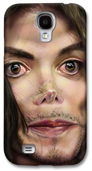 King Of Pop Galaxy S4 Cases - Michaels Magnum Opus 1 Galaxy S4 Case by Reggie Duffie