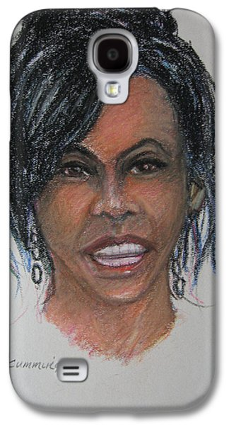 Michelle Obama Galaxy S4 Cases - Michelle Obama Galaxy S4 Case by John Cummings