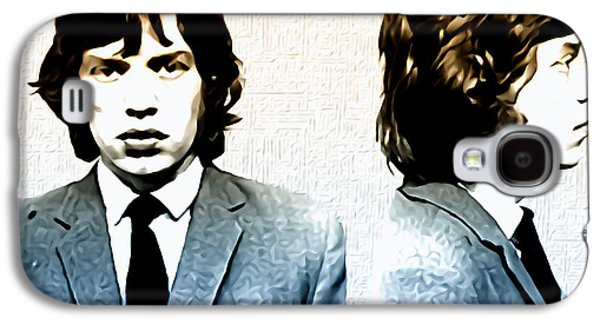 Mick Jagger Mugshot Galaxy S4 Case by Bill Cannon