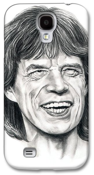 Mick Jagger Galaxy S4 Case by Murphy Elliott