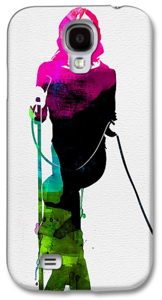 Mick Watercolor Galaxy S4 Case by Naxart Studio