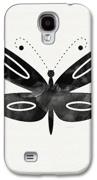 Midnight Butterfly 1- Art By Linda Woods Galaxy S4 Case by Linda Woods