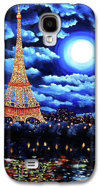 Recently Sold -  - Surreal Landscape Galaxy S4 Cases - Midnight in Paris Galaxy S4 Case by Laura Iverson