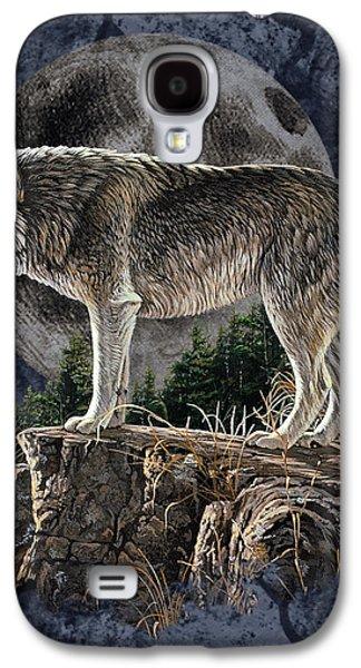 Midnight Wolf Galaxy S4 Case by JQ Licensing