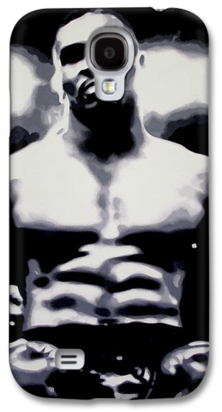 Boxer Galaxy S4 Cases - Mike Tyson Galaxy S4 Case by Luis Ludzska