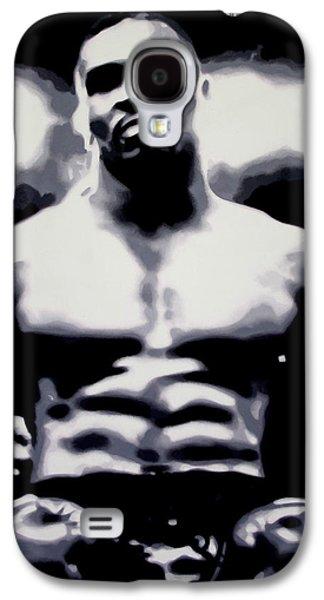 Mike Tyson Galaxy S4 Case by Luis Ludzska