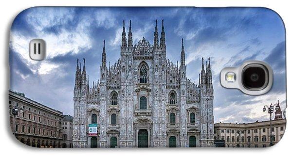 Milan Cathedral Santa Maria Nascente Galaxy S4 Case by Melanie Viola