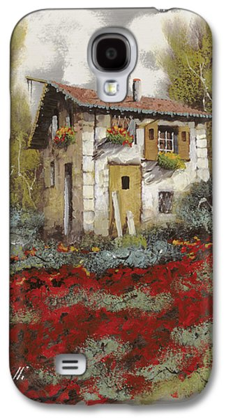 Jewelry Galaxy S4 Cases - Mille Papaveri Galaxy S4 Case by Guido Borelli