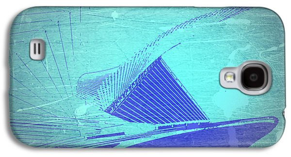 Structures Galaxy S4 Cases - Milwaukee Art Museum Galaxy S4 Case by Naxart Studio