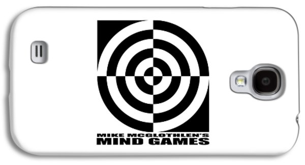 Circles Drawings Galaxy S4 Cases - Mind Games 1SE Galaxy S4 Case by Mike McGlothlen