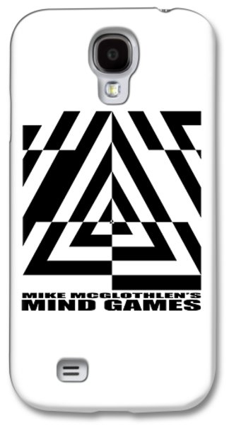 Circles Drawings Galaxy S4 Cases - Mind Games  21SE Galaxy S4 Case by Mike McGlothlen