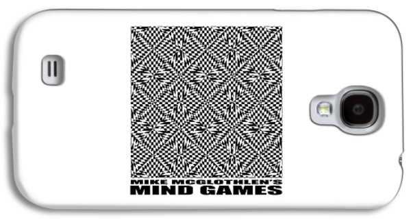 Circles Drawings Galaxy S4 Cases - Mind Games 61SE 2 Galaxy S4 Case by Mike McGlothlen