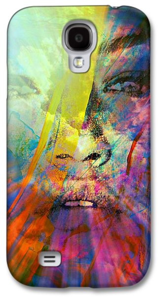 Sunset Abstract Galaxy S4 Cases - Mind Over Matter Galaxy S4 Case by Richard Ray