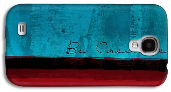 Minima - Be Creative Bc01b- Br02 Galaxy S4 Case by Variance Collections