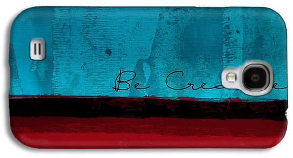 Abstract Digital Digital Art Galaxy S4 Cases - Minima - Be Creative bc01b- br02 Galaxy S4 Case by Variance Collections