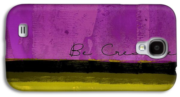 Minima - Be Creative Bc1b-pgv3 Galaxy S4 Case by Variance Collections