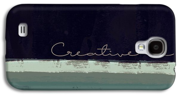 Minima - Creative Me - Ch01b Galaxy S4 Case by Variance Collections