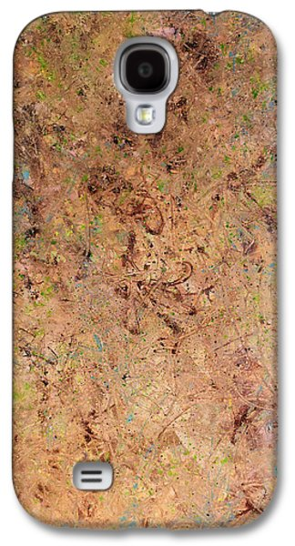 Subtle Colors Galaxy S4 Cases - Minimal 7 Galaxy S4 Case by James W Johnson