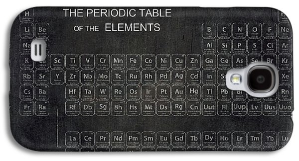 Minimalist Periodic Table Galaxy S4 Case by Daniel Hagerman