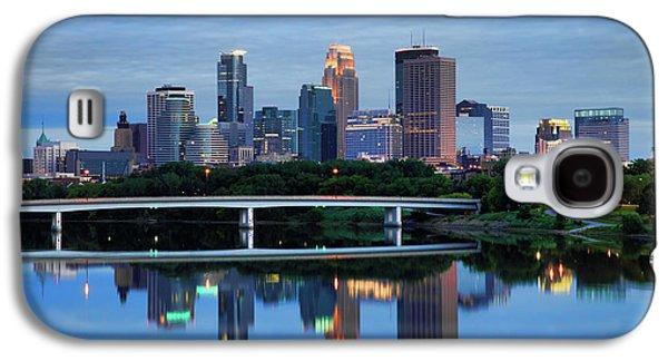Minneapolis Reflections Galaxy S4 Case by Rick Berk