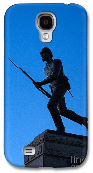 Minnesota Soldier Monument At Gettysburg Galaxy S4 Case by John Greim