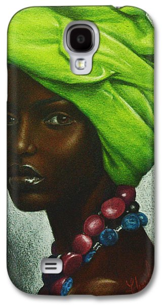 African-american Galaxy S4 Cases - Mint Chocolate Galaxy S4 Case by Charlene Cooper