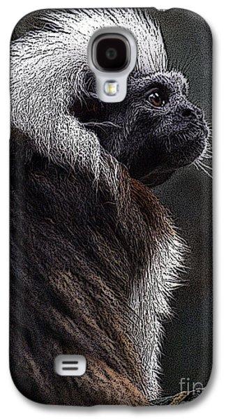 Black Top Digital Art Galaxy S4 Cases - Mischief Galaxy S4 Case by Mark Kryzaniak