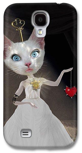Miss Kitty Galaxy S4 Case by Juli Scalzi