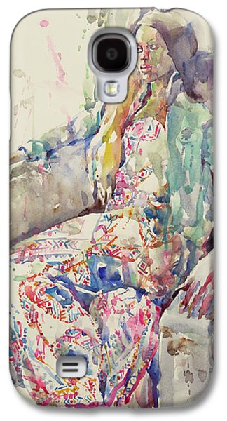 Miss Vine Galaxy S4 Case by Becky Kim