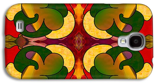 Missing Pieces Abstract Art By Omashte Galaxy S4 Case by Omaste Witkowski