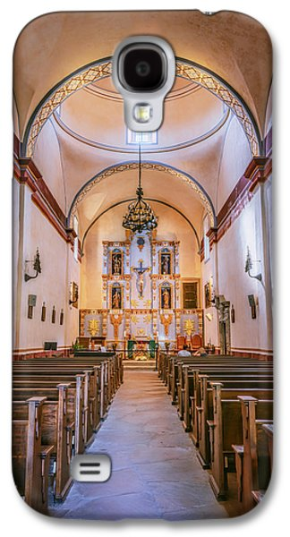 Religious Galaxy S4 Cases - Mission San Jose Chapel Galaxy S4 Case by Joan Carroll