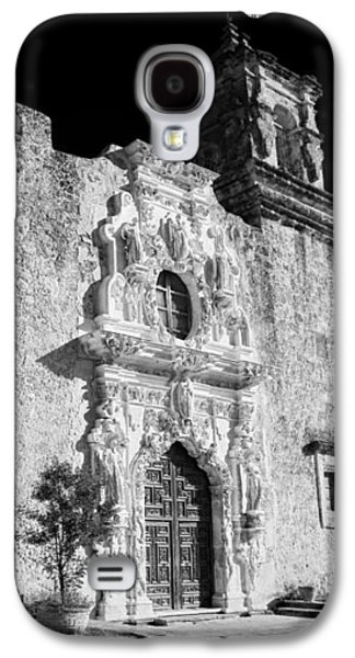 Landmarks Photographs Galaxy S4 Cases - Mission San Jose - Infrared Galaxy S4 Case by Stephen Stookey