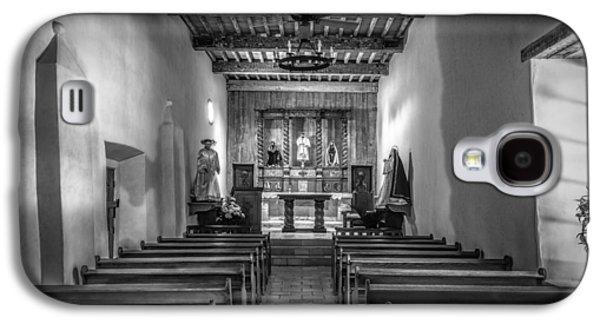 Ancient Galaxy S4 Cases - Mission San Juan Capistrano Texas BW Galaxy S4 Case by Joan Carroll