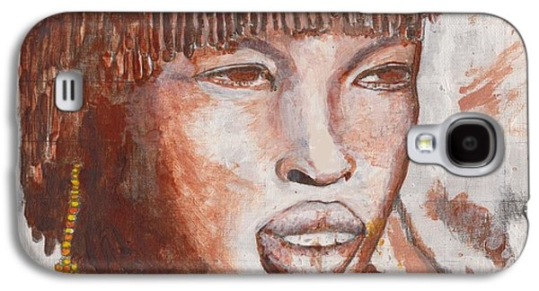 African-american Galaxy S4 Cases - Mistress Galaxy S4 Case by David Jackson