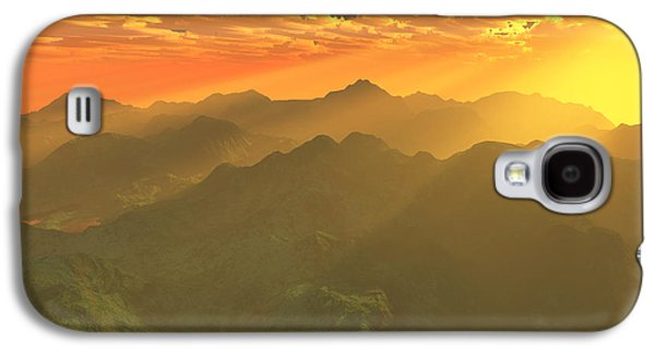Computer Generated Galaxy S4 Cases - Misty mornings in Neverland Galaxy S4 Case by Gaspar Avila