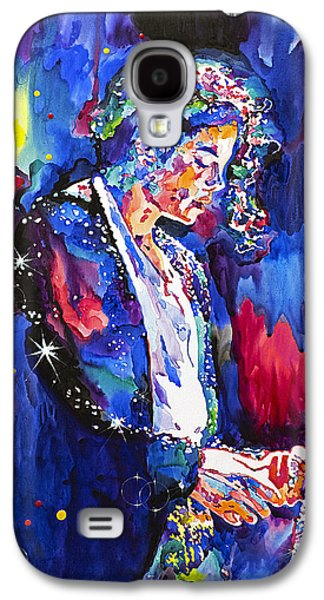 King Of Pop Galaxy S4 Cases - MJ Final Performance II Galaxy S4 Case by David Lloyd Glover
