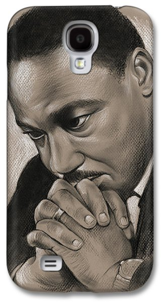 MLK Galaxy S4 Case by Greg Joens
