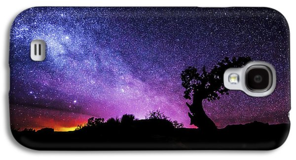 Winter Night Galaxy S4 Cases - Moab Skies Galaxy S4 Case by Chad Dutson