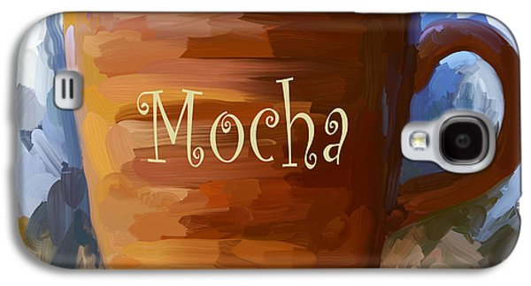 Mocha Coffee Cup Galaxy S4 Case by Jai Johnson